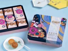 华美金丽沙月饼丨炫彩花香月饼礼盒800g丨河南金丽沙月饼总代理,华美月饼