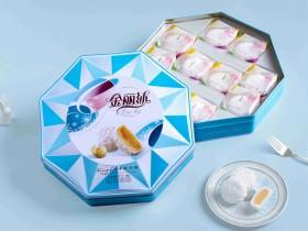 金丽沙 八角冰皮月饼600g月饼礼盒,郑州金丽沙月饼团购